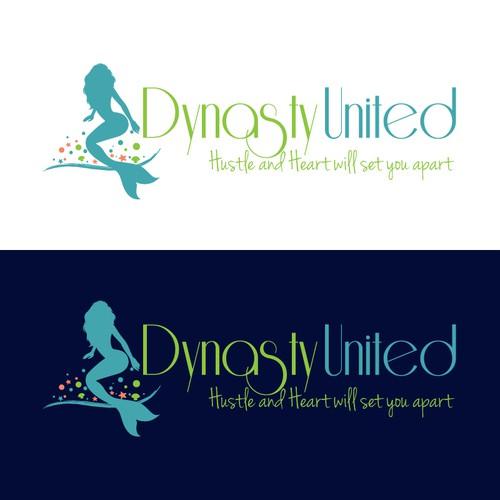 Fitness Entrepreneur Team logo design with ocean themes.