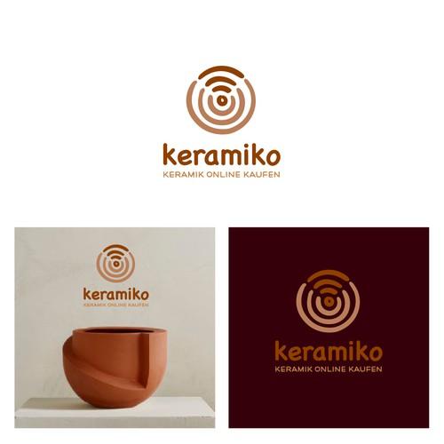 Online Ceramic Shop Logo Design