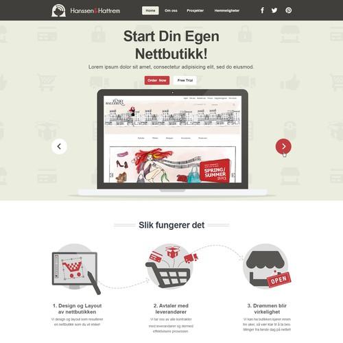 Girly firm wants trendy website design. Please, make us big!
