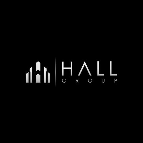 Winning logo for HALL GROUP
