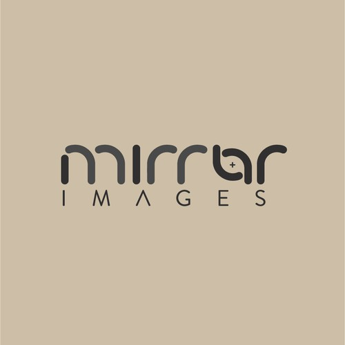 Logo concept for mirror images