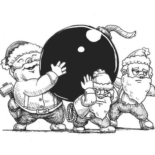 Bomb Dwarfs Sketch