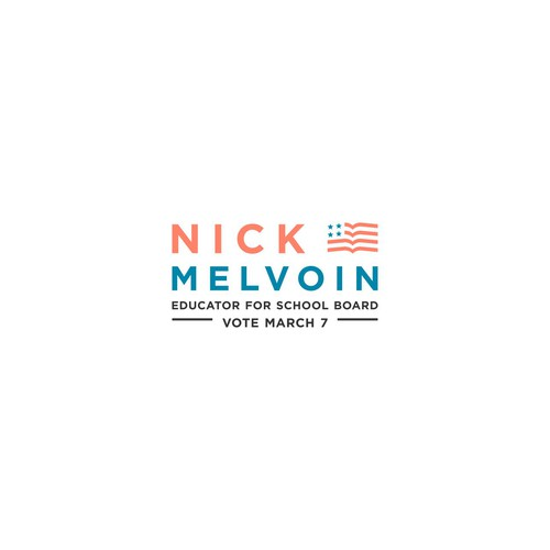 Nick Melvoin Logo