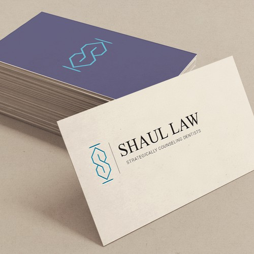 "Logo concept for ""Shaul Law"""