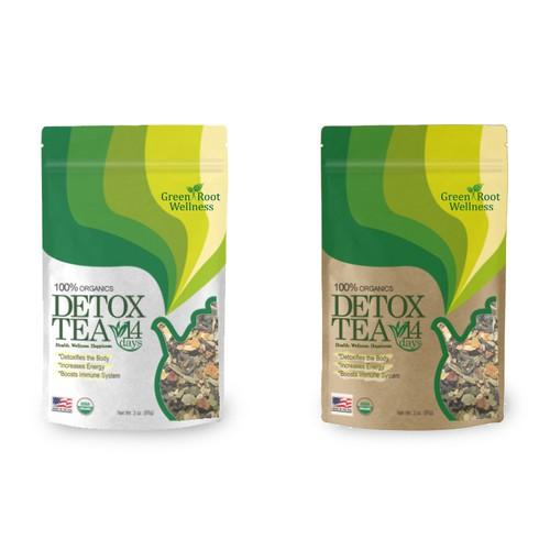 Detox Tea packaging