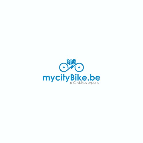 Logo concept for mycitybike.be