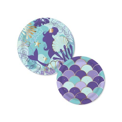 Mermaid Tableware Set Design