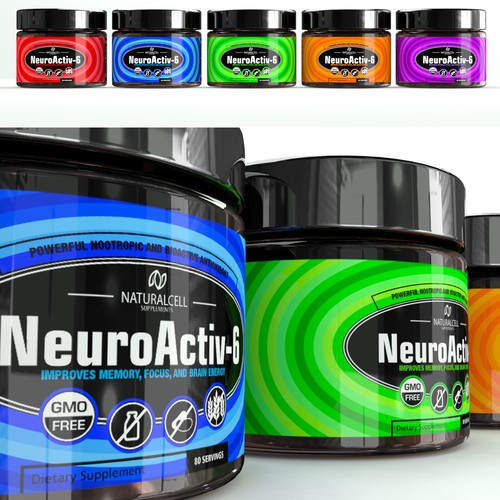 Supplement jar nootropic