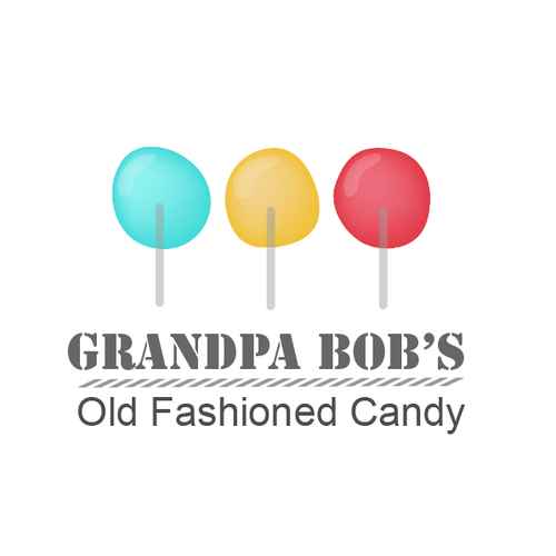 Create a logo for a potential family handmade candy shop/cart.