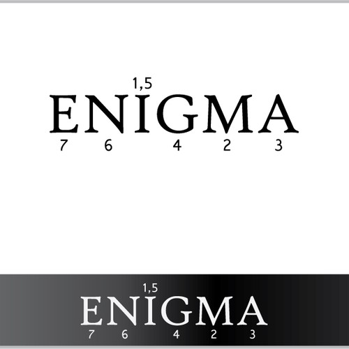 Enigmatic logo for enigmatic company