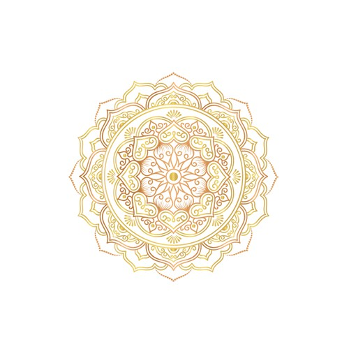 Mandala design for a Naturapathist-who support people to stay in balance with Ayurvedic treatments