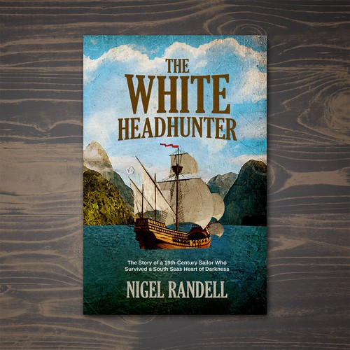 Book cover for The White Headhunter book