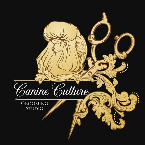 Canine Culture Grooming Studio Logo