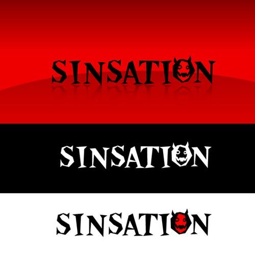 Sinsation Logo Design