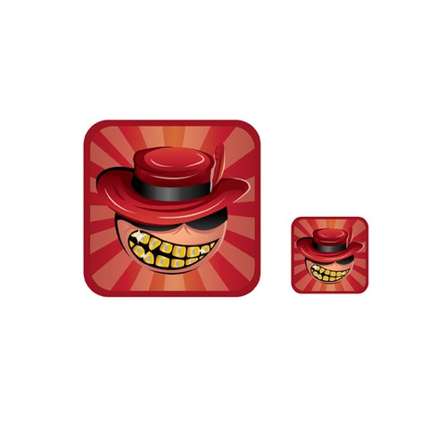 Pimp My Teeth App Button Design