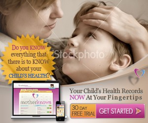 banner ad for MotherKnows