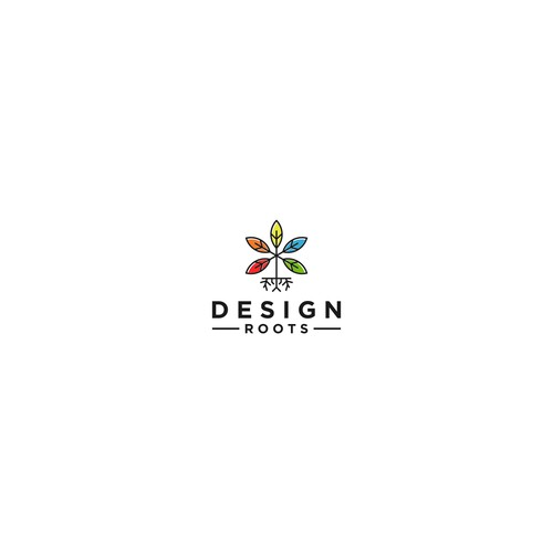 Design Roots Logo - Curated Palette Collection
