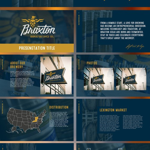Braxton Brewing PowerPoint