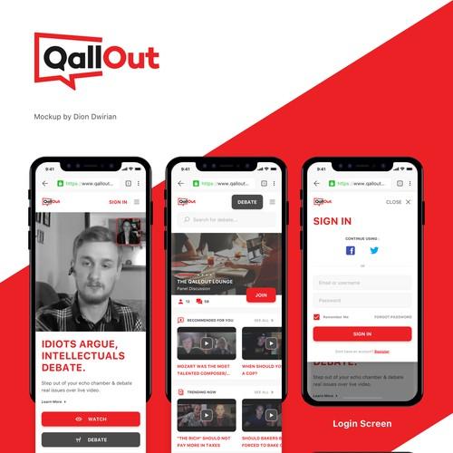 Callout WebApp