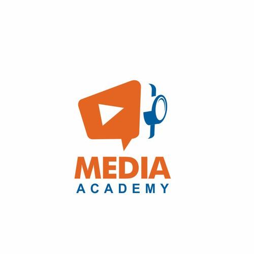 Distribute & Broadcasting media online logo