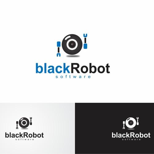 Create the next logo for Black Robot Software