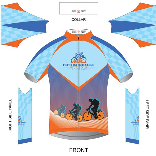 Design a Powerful Hip Jersey for Bicycle Club 01