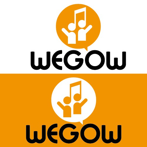 Logo for Wegow, a community for music lovers