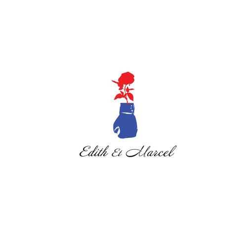 Logo concept for Edith&Marcel