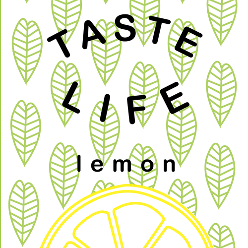 taste life label design