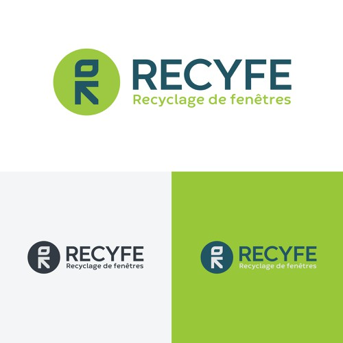Concept Logo for window-recycling company
