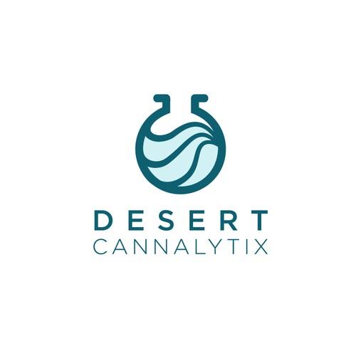 Logo concept for desert cannalytix