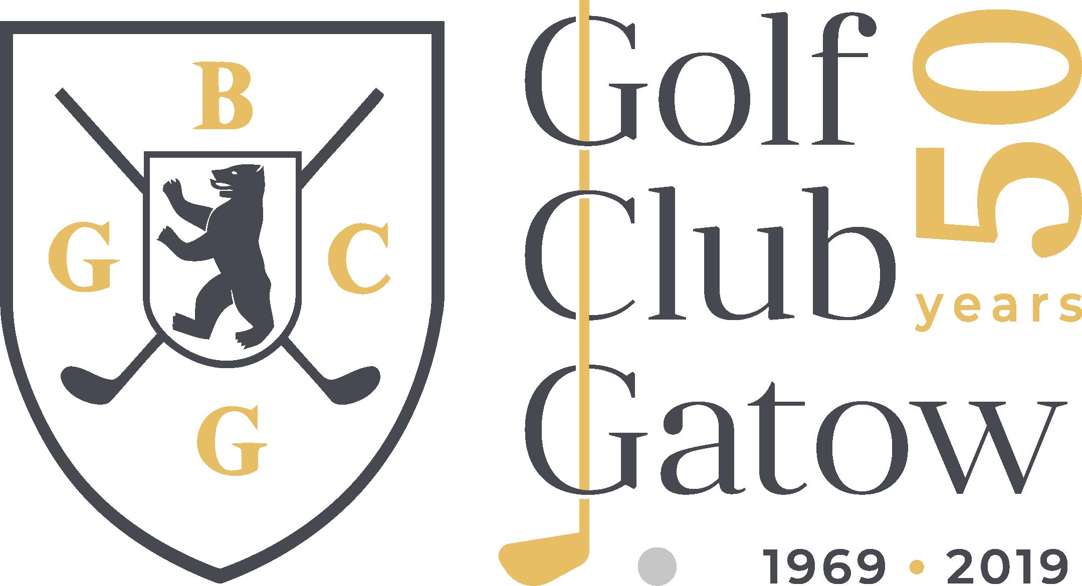 Logo für 50 Jahre Golf Club Gatow