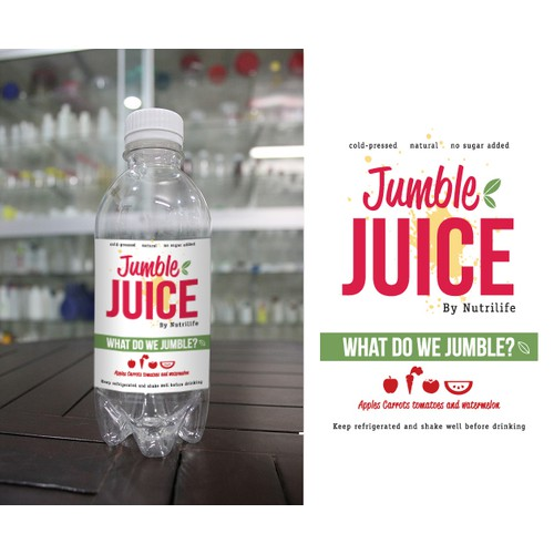 Jumble Juice Label *unused propsal*