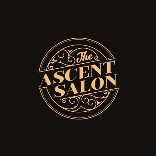 Logo for  a salon