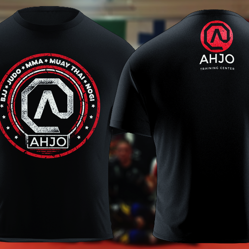 A fun t-shirt design for Ahjo Training Center
