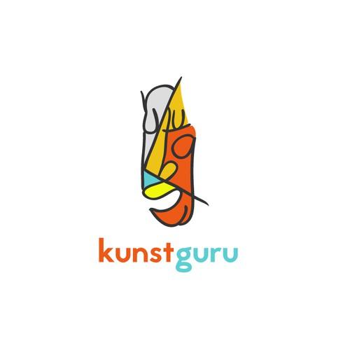 Bold Logo for Art Website