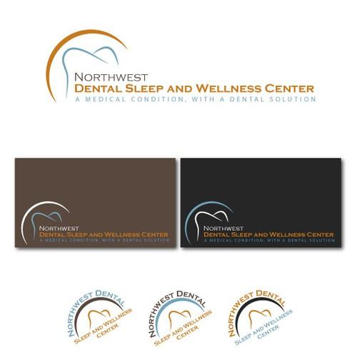 Create a logo for our innovative Dental Sleep and Wellness Center