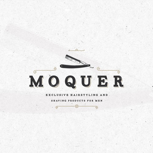 Logo and presentation for Moquer .