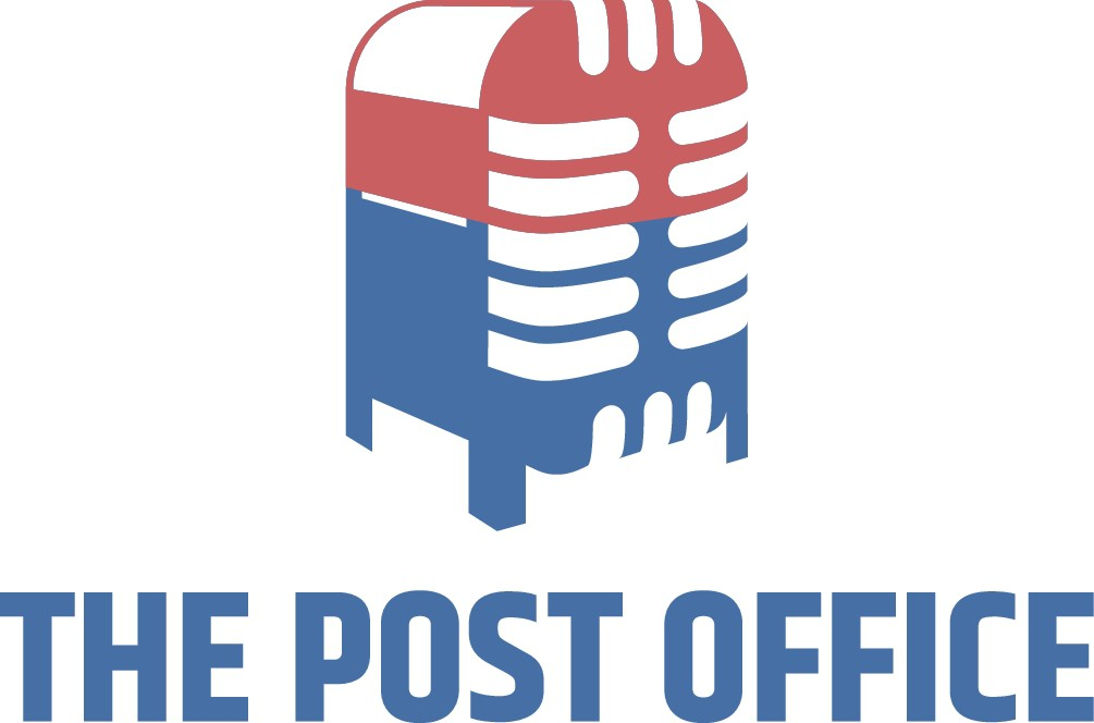 Create a hip logo for a recording studio called The Post Office