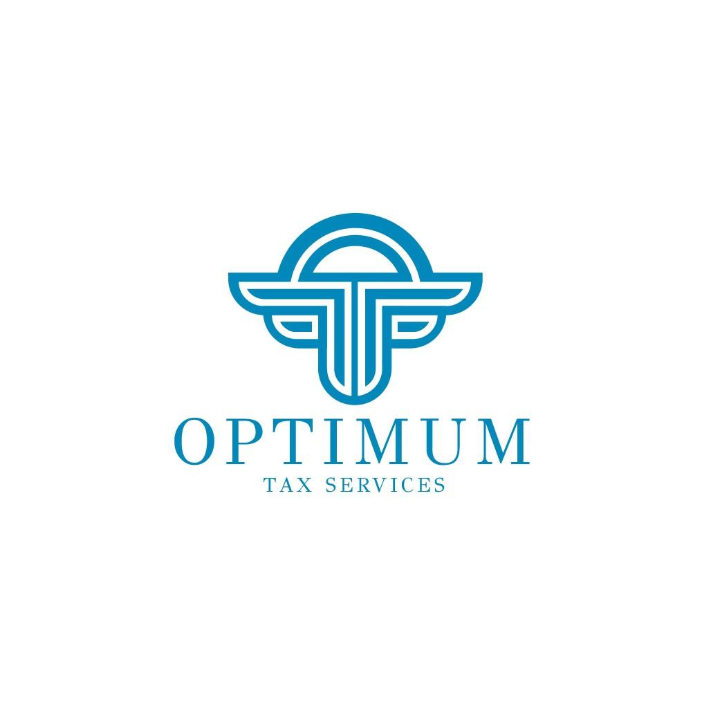 Design a sleek, modern logo for Optimum Tax Services