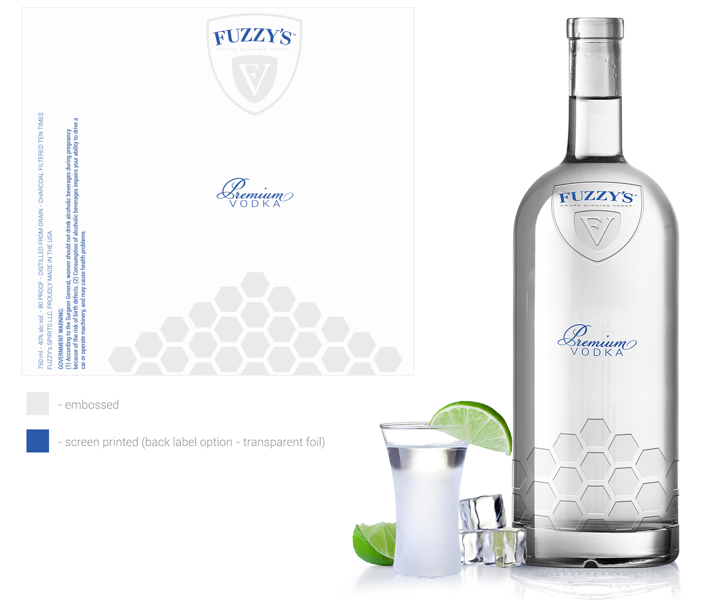 Help create the next great vodka label and bottle