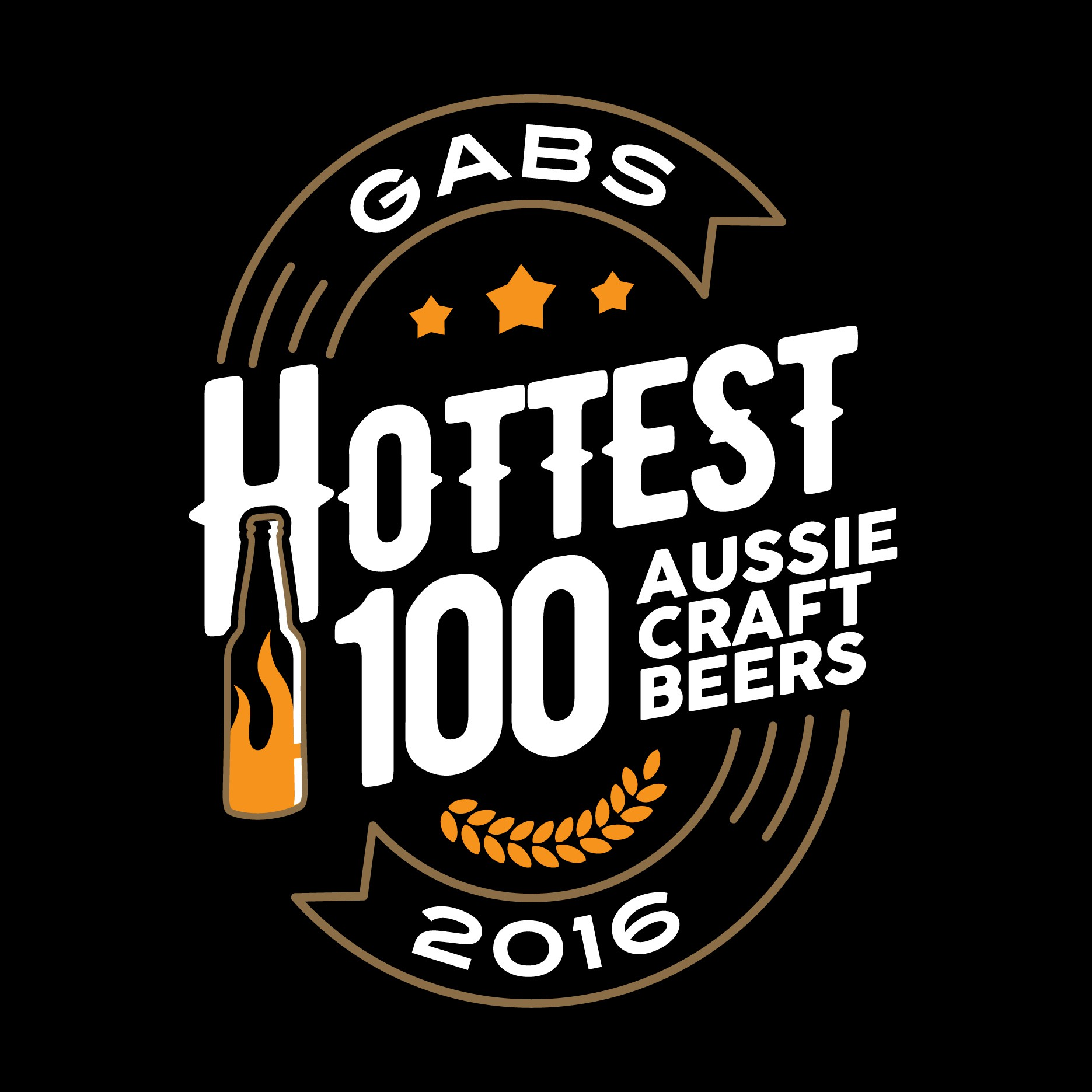 Design a stylish and fun logo for the Hottest 100 Aussie Craft Beers awards