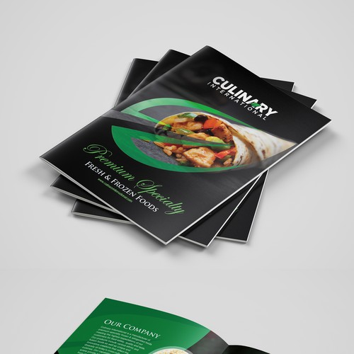 Culinary Brochure