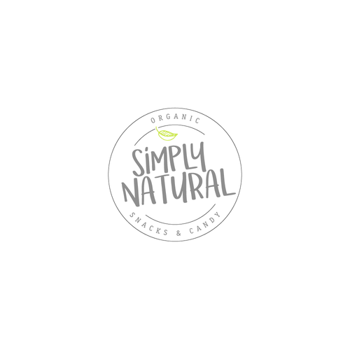 Logo design for an Organic Snack & Candy Brand