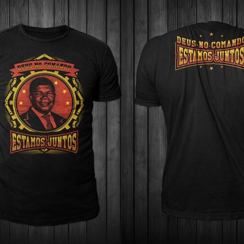 T-shirt design for Joao Lourenço