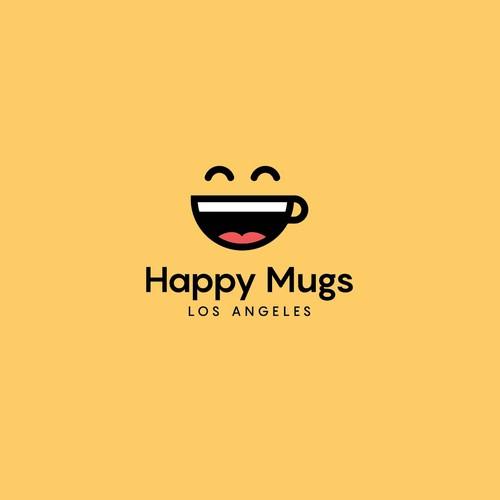 Happy mugs logo