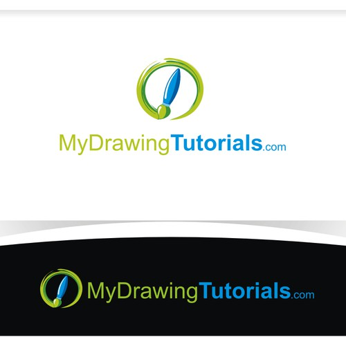 Create logo for Art website (MyDrawingTutorials.com)