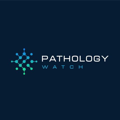 Patology wath laboratory scientific logo