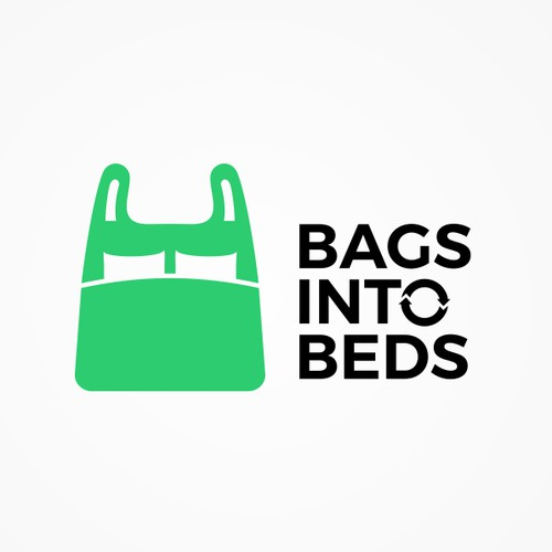 Logo design for Bags Into Beds