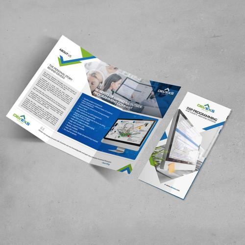 Devexs Group LLC (Brochure Design)
